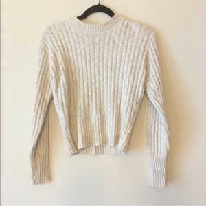 Sweaters - Oatmeal knit sweater